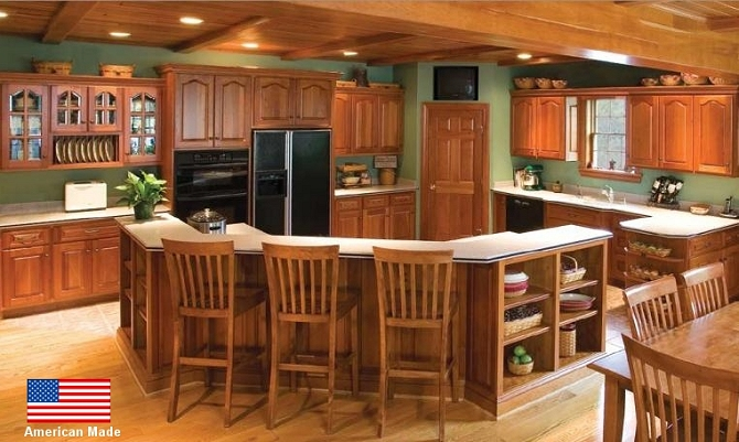 Charming CUSTOM KITCHEN CABINETS