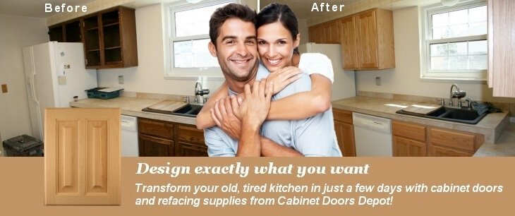 Do It Yourself DIY Kitchen Cabinet Refacing